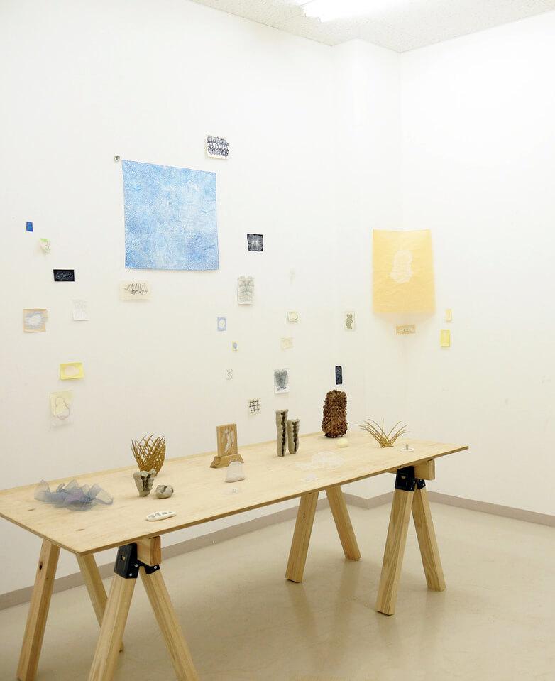 [写真]彫刻演習室 展示風景