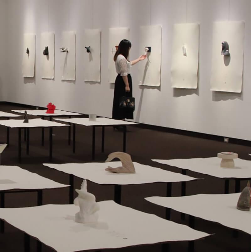 [写真]彫刻の五七五 HAIKU sculpture2019―かたちで詠む春夏秋冬―浦添美術館