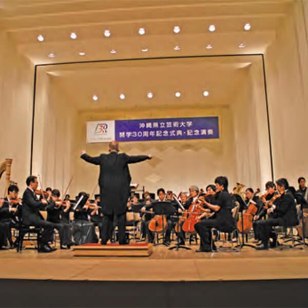 [写真]奏楽堂ホールでの演奏会の様子