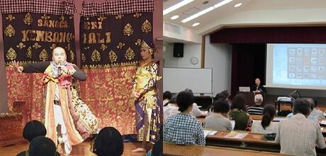 [写真]芸術文化研究所主催の文化講座の様子