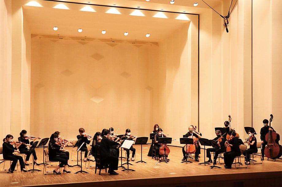 [写真]奏楽堂ホールでの洋楽定期公演の様子