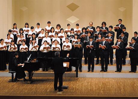 [写真]合唱学内演奏会の様子