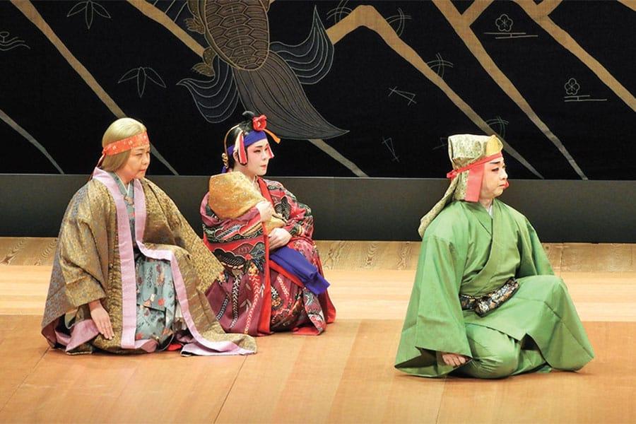 [写真]平成31年度 琉球舞踊組踊専修修士演奏の発表風景