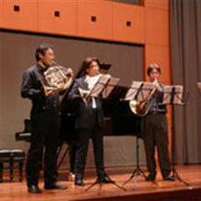 [写真]ベルリンフィル首席奏者、シュテファン・ドール氏との演奏