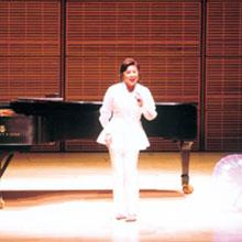 [写真]リサイタル(アメリカ、NYカーネギーホール)ブラッドリー・モーアと共に