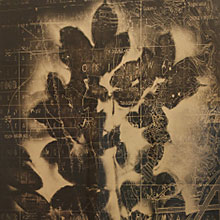 [写真]Projection map 1945 yontanzan, sakura I
