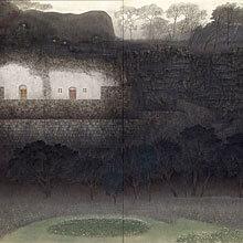 [写真]凪の壁
