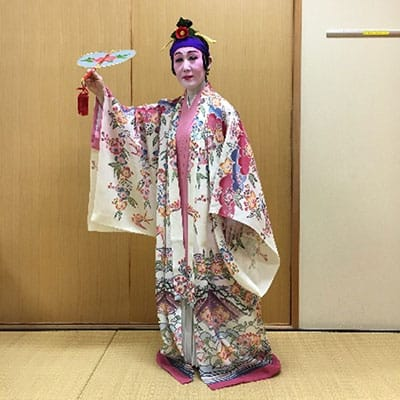 [写真]古典女踊り「作田」