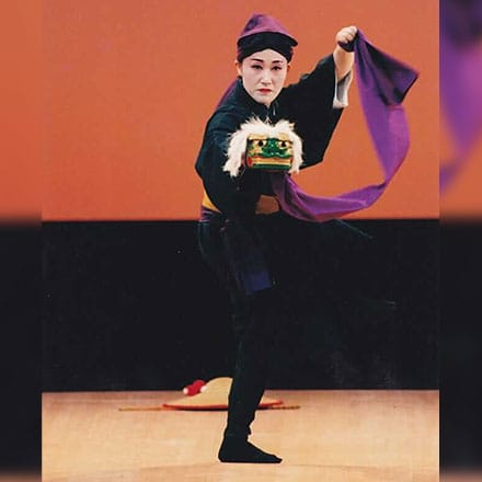 [写真]二才踊「高平良万歳」