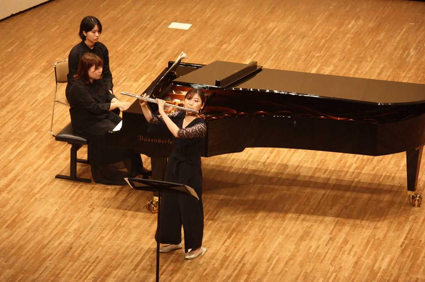 [写真]学内演奏会 ―管打楽コース―演奏風景3