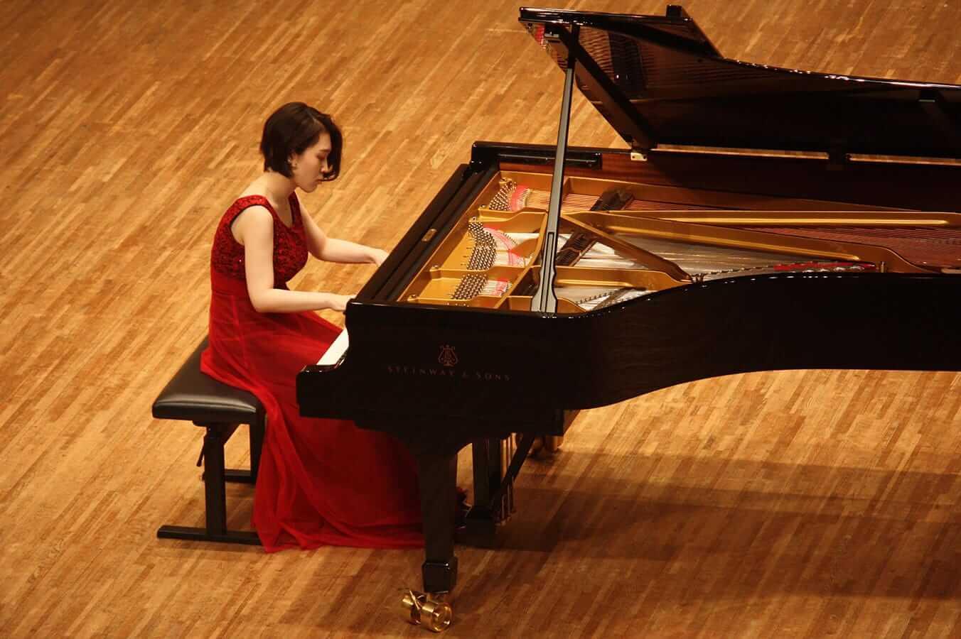 [写真]学内演奏会 ―ピアノコース4年―演奏風景5