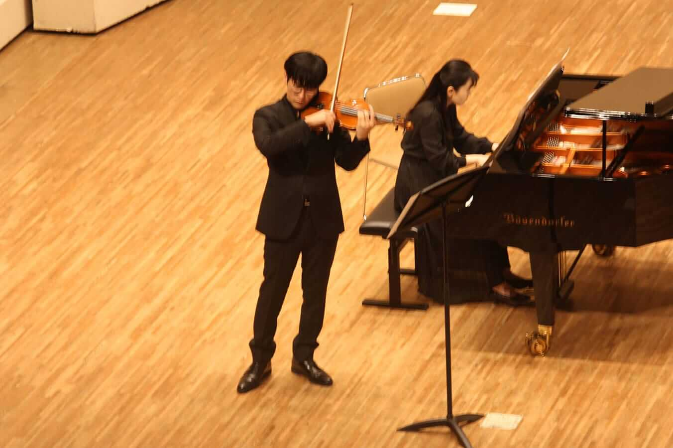 [写真]学内演奏会 ―弦楽コース―演奏風景9