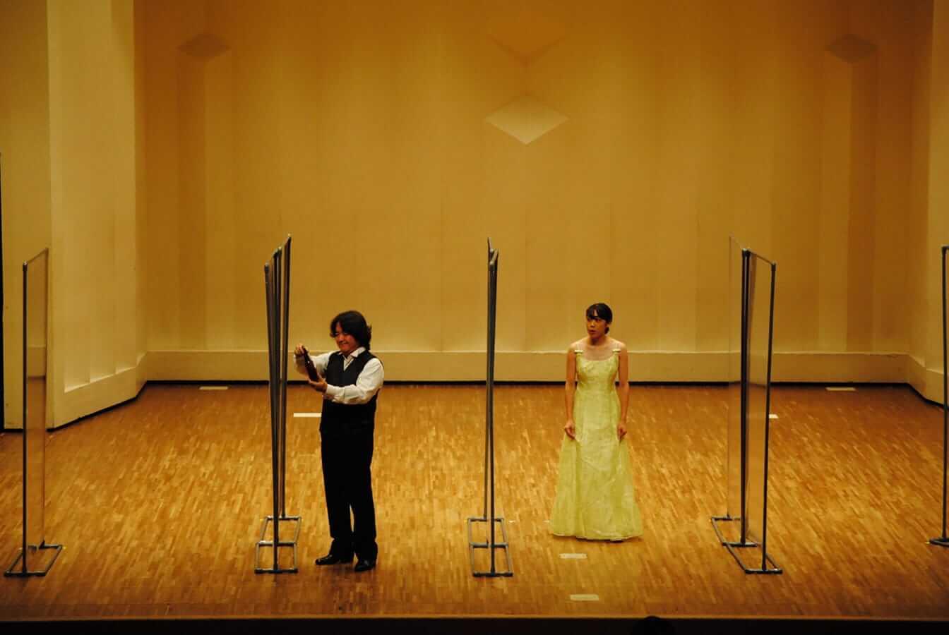 [写真]第12回学内演奏会 ―声楽コース 声楽専修 オペラアンサンブル―演奏風景2