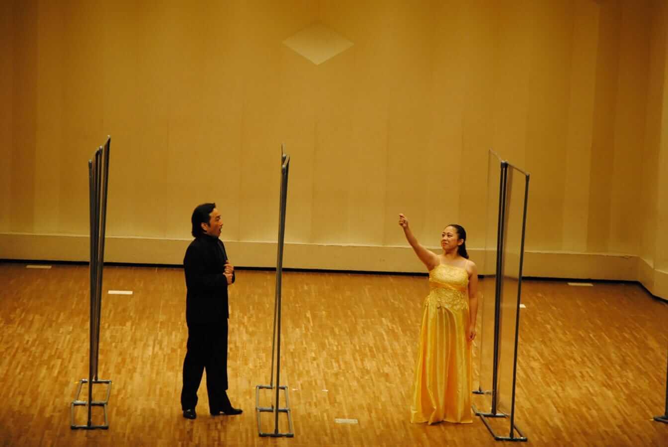[写真]第12回学内演奏会 ―声楽コース 声楽専修 オペラアンサンブル―演奏風景5