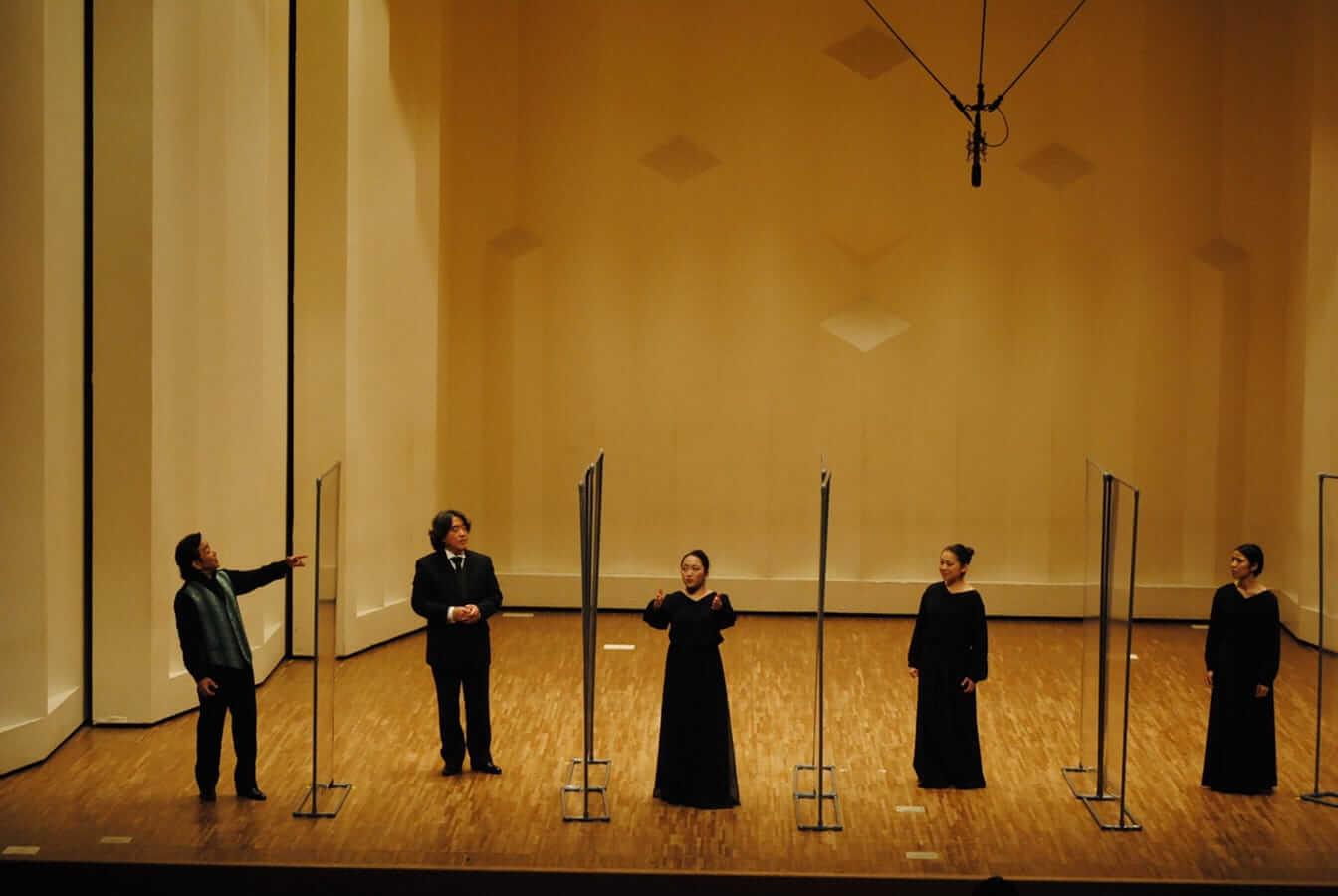 [写真]第12回学内演奏会 ―声楽コース 声楽専修 オペラアンサンブル―演奏風景7