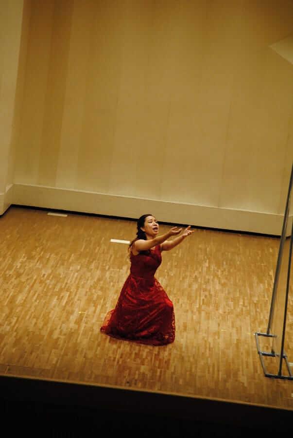 [写真]第12回学内演奏会 ―声楽コース 声楽専修 オペラアンサンブル―演奏風景9