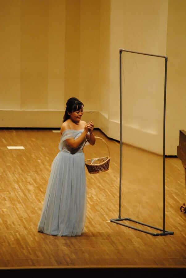 [写真]第12回学内演奏会 ―声楽コース 声楽専修 オペラアンサンブル―演奏風景10