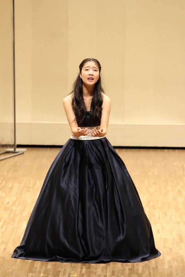 [写真]第18回学内演奏会 ―声楽コース オペラアンサンブル―演奏風景4