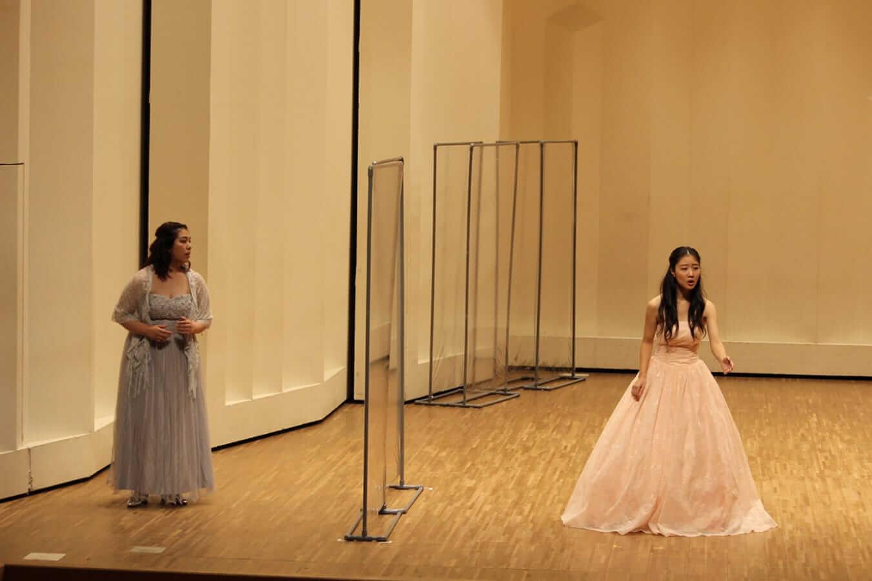 [写真]第18回学内演奏会 ―声楽コース オペラアンサンブル―演奏風景6
