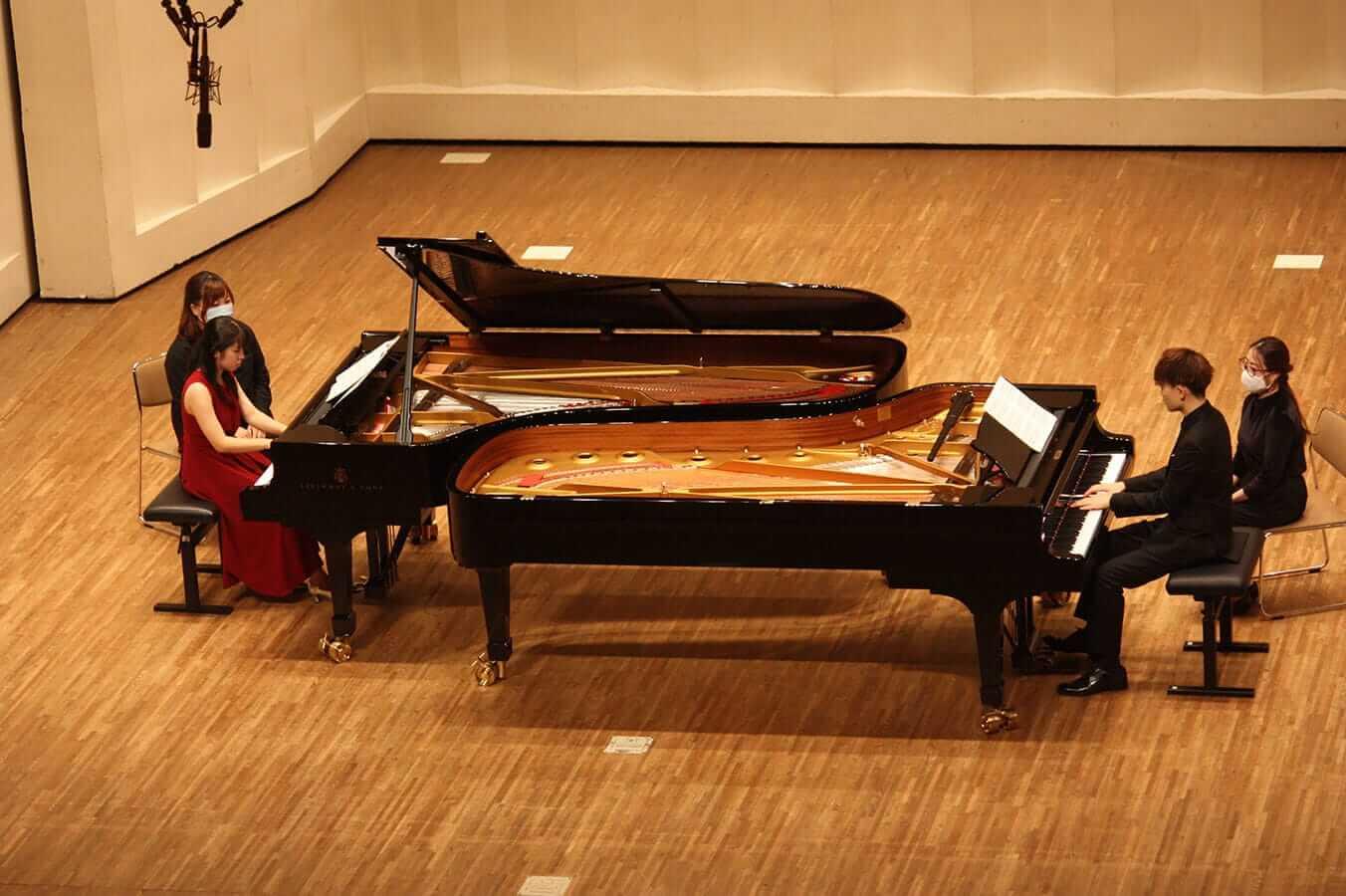 [写真]学内演奏会 ―ピアノコース―演奏風景8