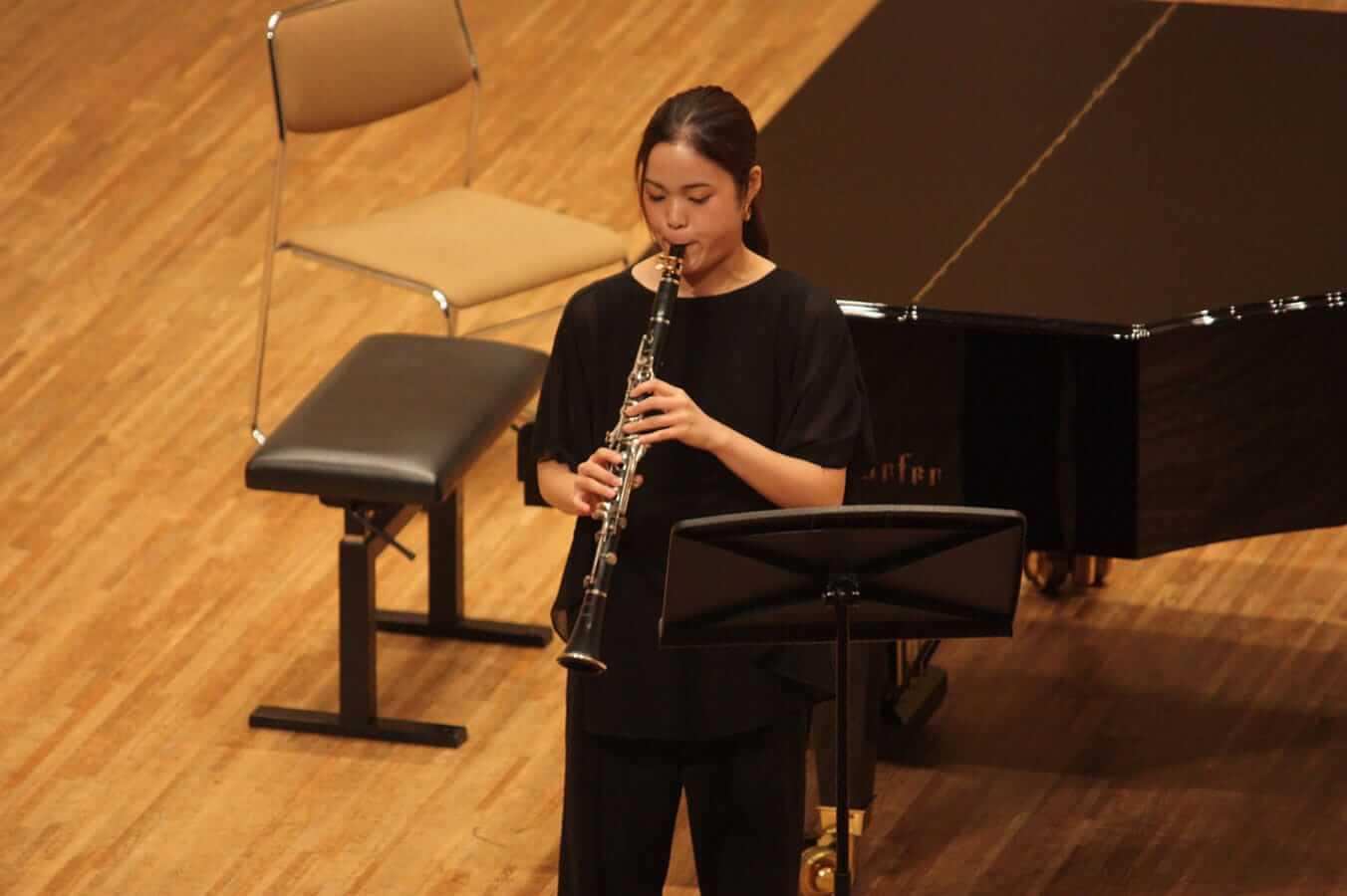 [写真]学内演奏会 ―管打楽コース―演奏風景2