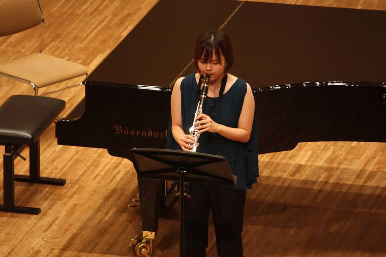 [写真]学内演奏会 ―管打楽コース―演奏風景4