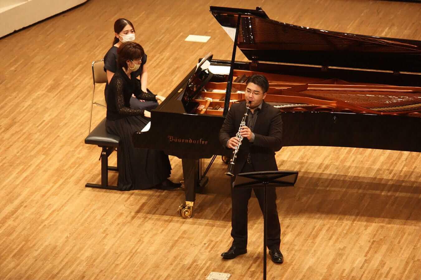 [写真]学内演奏会 ―管打楽コース―演奏風景5