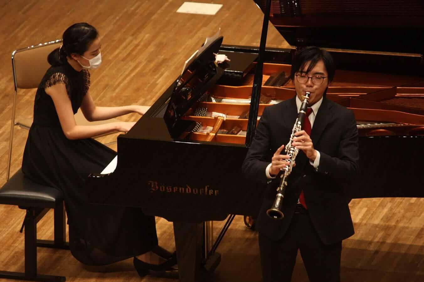 [写真]学内演奏会 ―管打楽コース―演奏風景6
