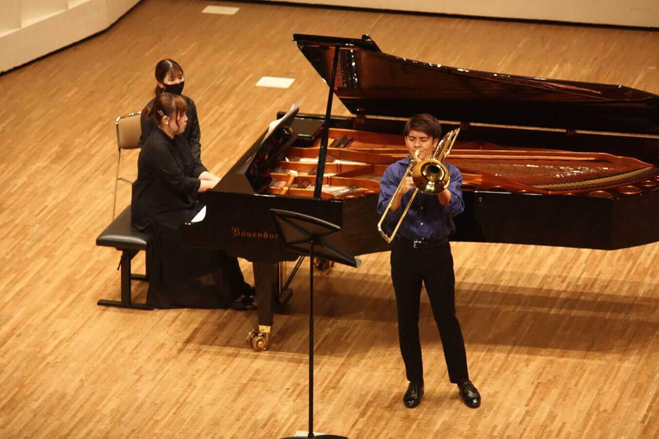 [写真]学内演奏会 ―管打楽コース―演奏風景7