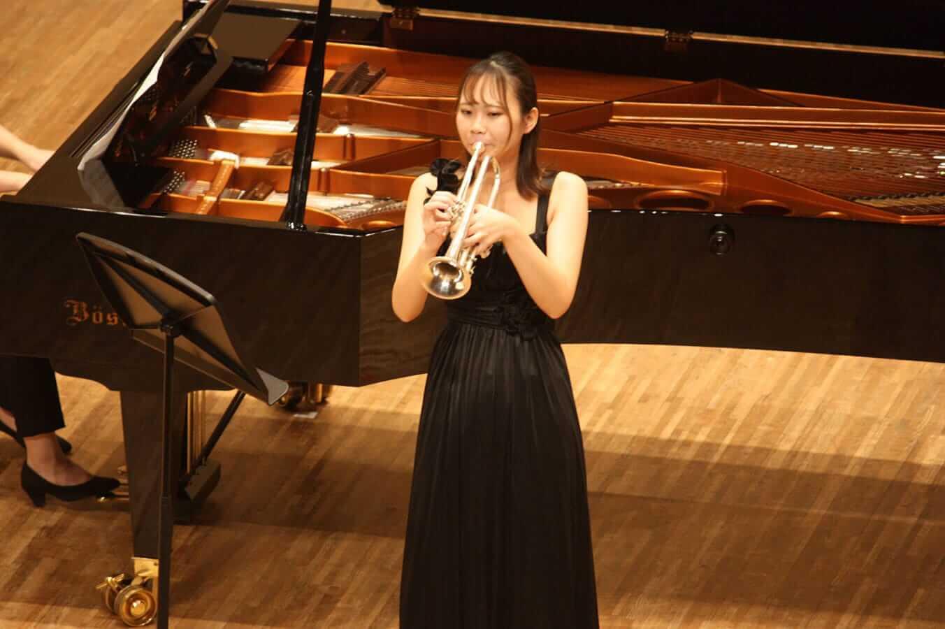 [写真]学内演奏会 ―管打楽コース―演奏風景8