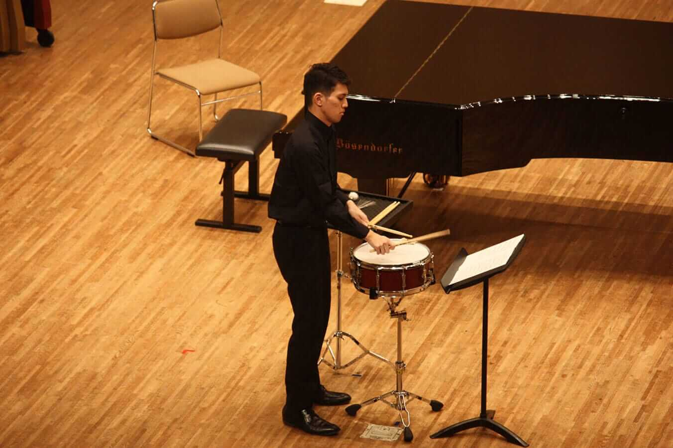 [写真]学内演奏会 ―管打楽コース―演奏風景9