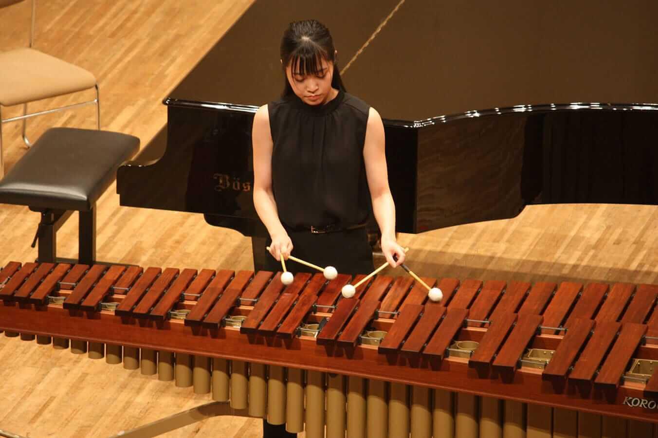 [写真]学内演奏会 ―管打楽コース―演奏風景10