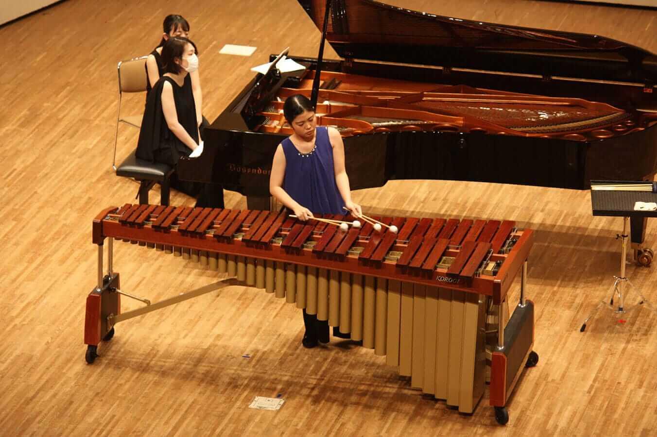 [写真]学内演奏会 ―管打楽コース―演奏風景11
