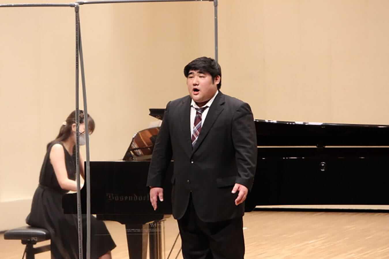 [写真]学内演奏会 ―声楽コース 1・2年次 独唱 3年次 日本歌曲―演奏風景3