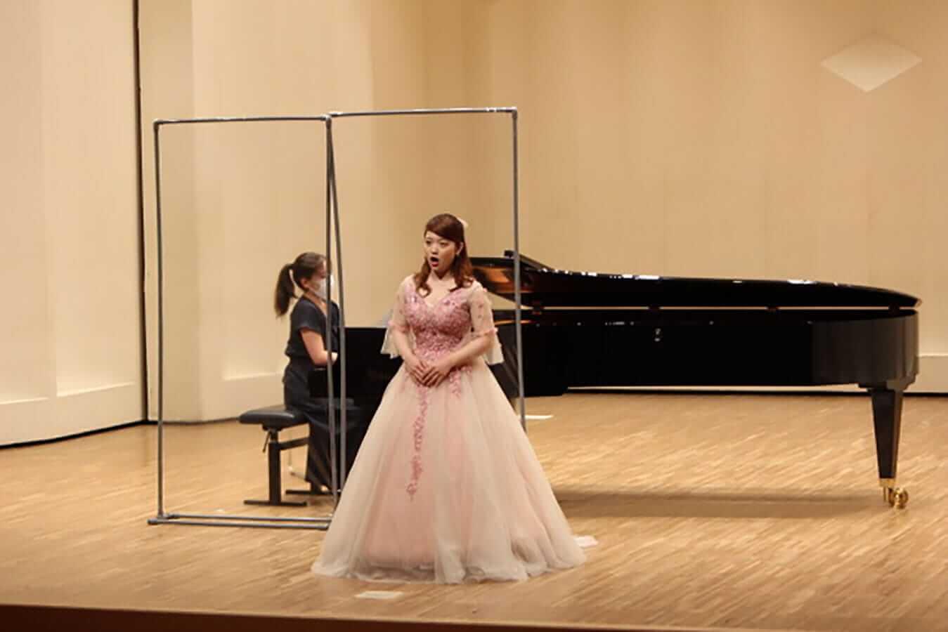 [写真]学内演奏会 ―声楽コース 1・2年次 独唱 3年次 日本歌曲―演奏風景10