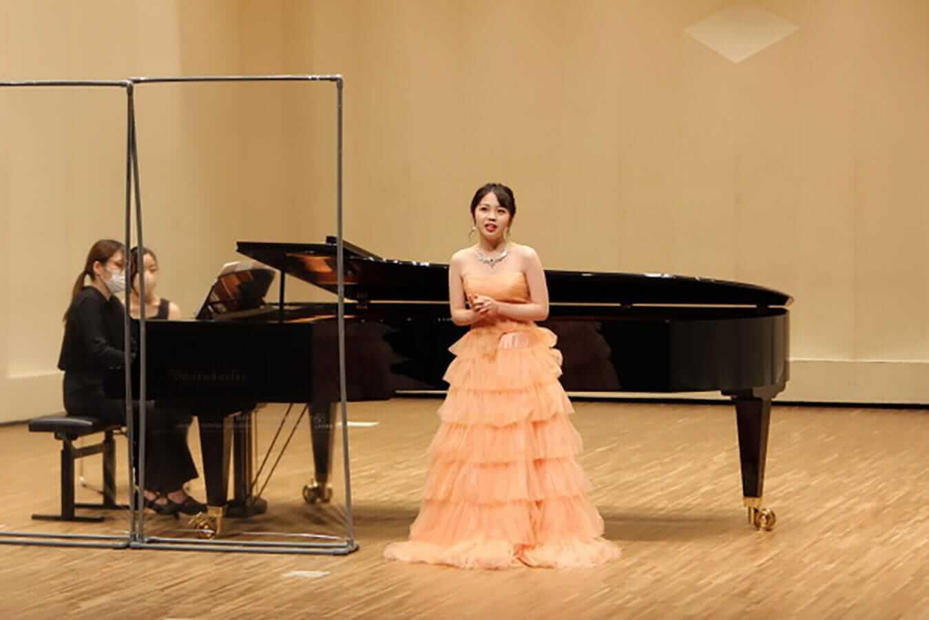 [写真]学内演奏会 ―声楽コース 1・2年次 独唱 3年次 日本歌曲―演奏風景15