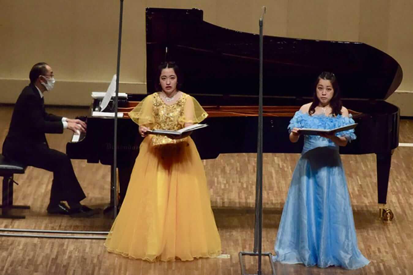 第23回学内演奏会 ―声楽コース 重唱 声楽専修 独唱―演奏風景4