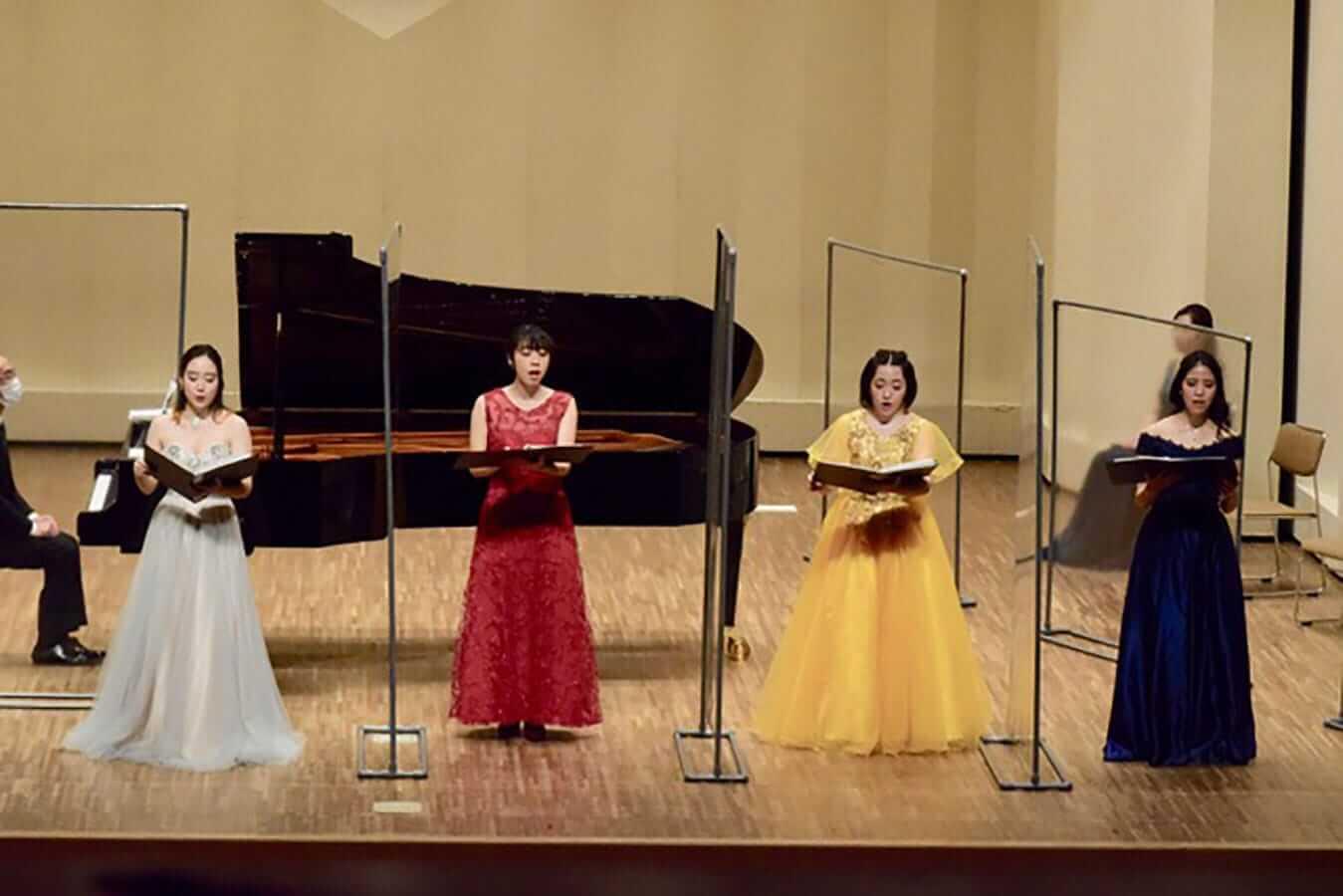 第23回学内演奏会 ―声楽コース 重唱 声楽専修 独唱―演奏風景8