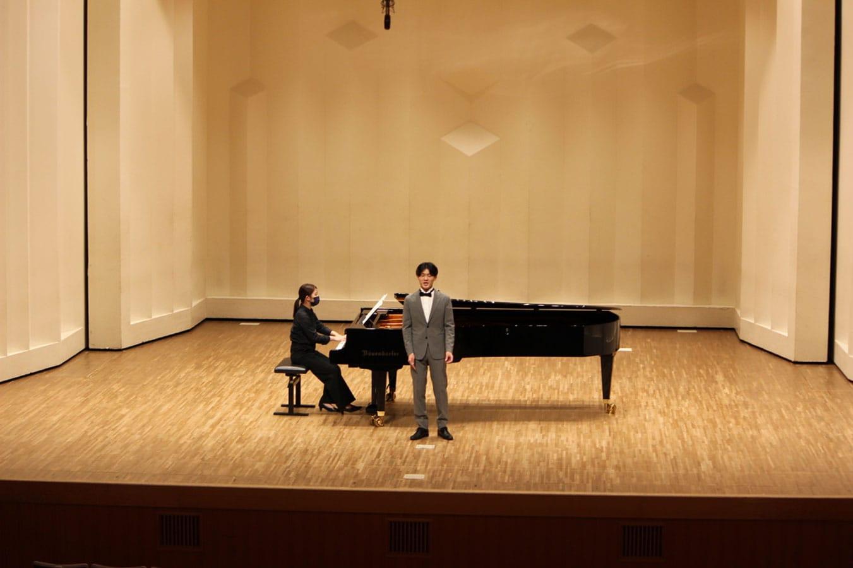 第3回学内演奏会 ―3・4年次独唱―演奏風景3