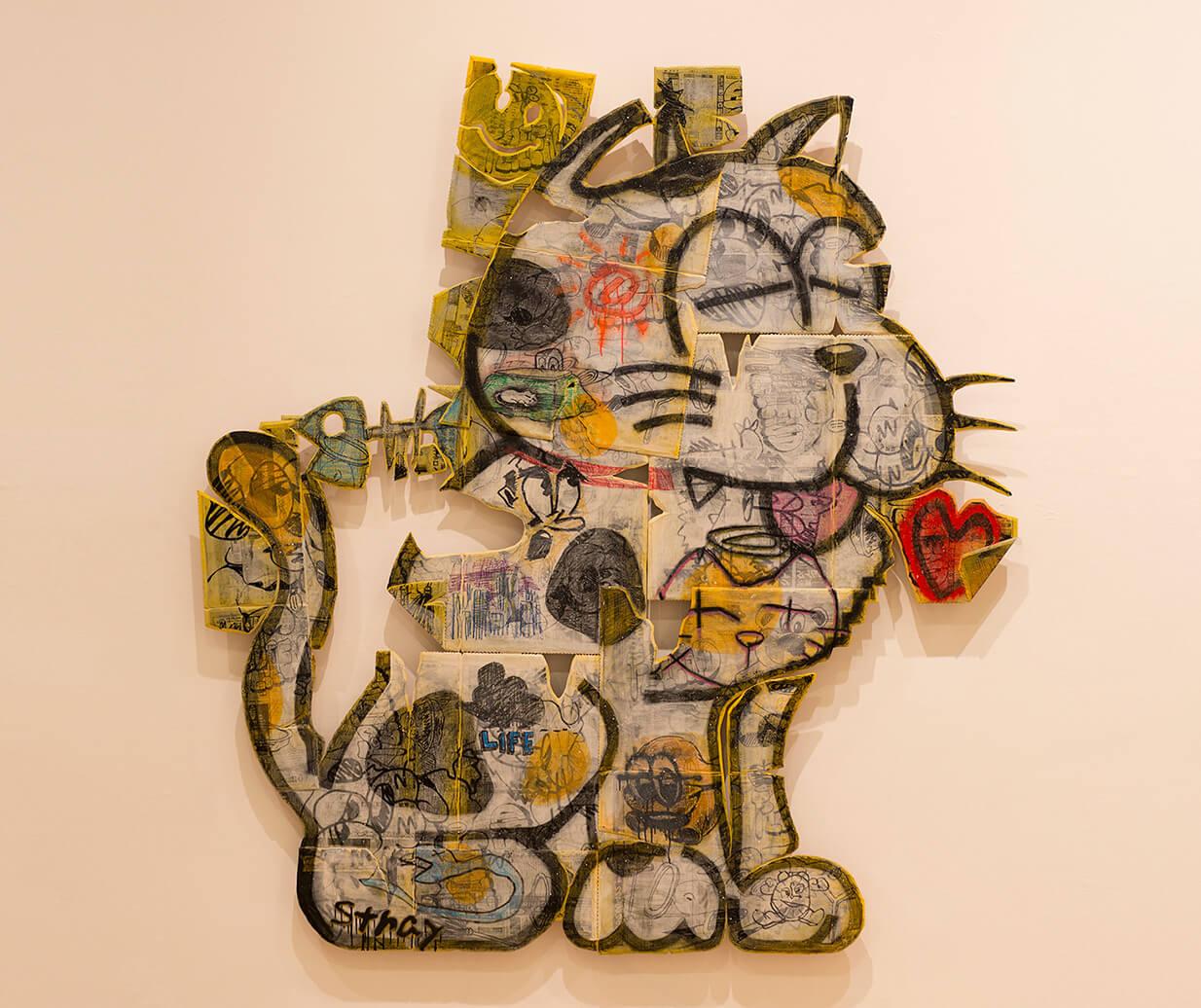 洲間 大輝『Friends Portrait-cat』