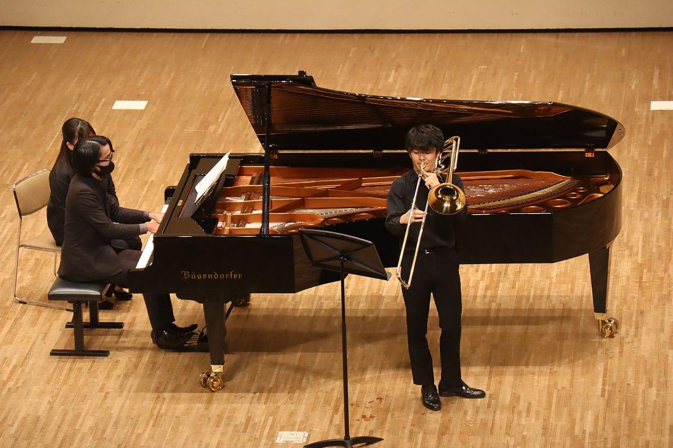 第1回学内演奏会 ―管打楽コース―演奏風景6