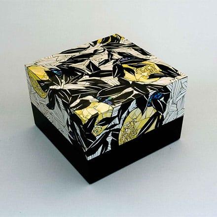 [写真]色貝飾箱「夏みかん」
