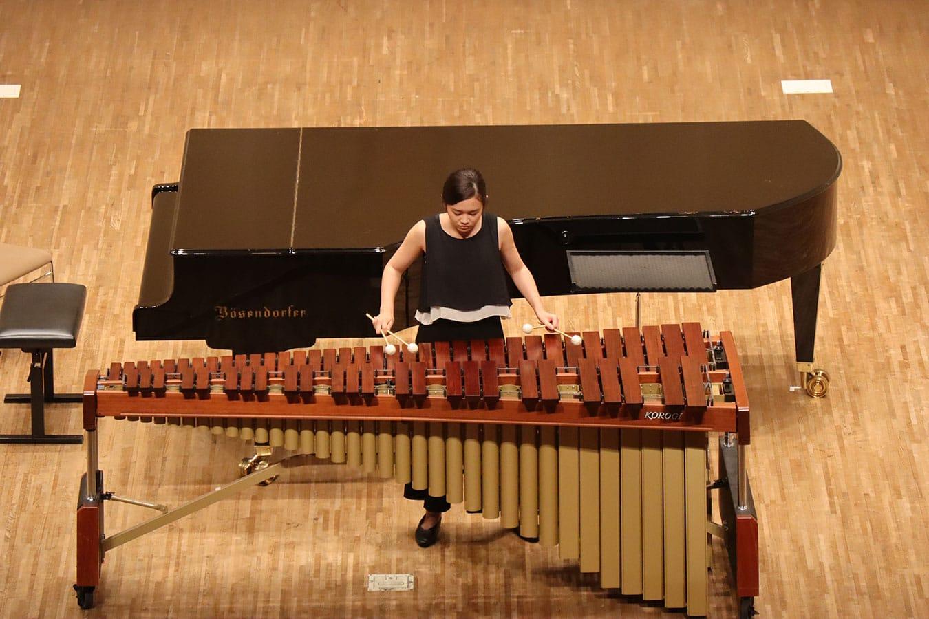 第2回学内演奏会 ―管打楽コース―演奏風景5