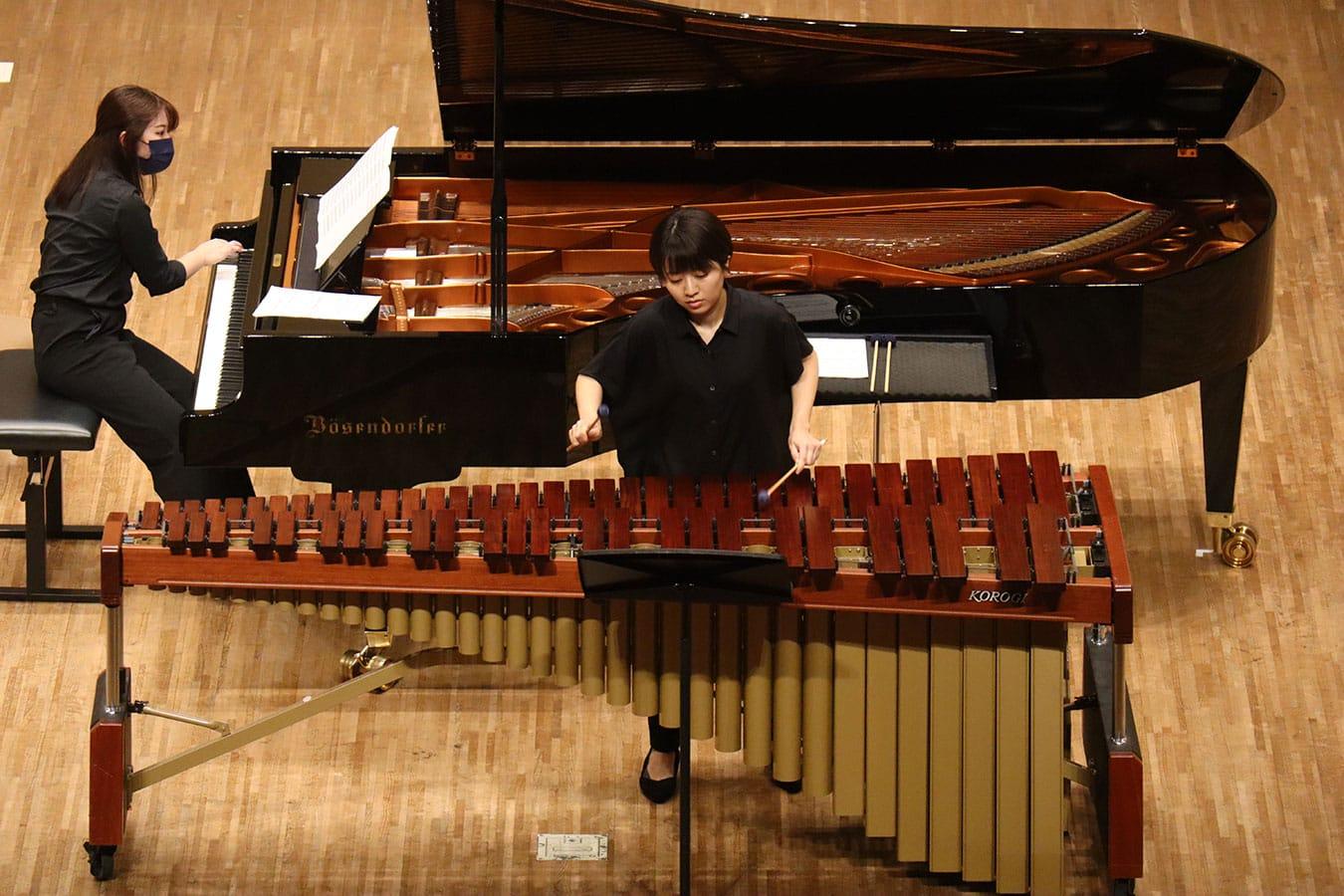 第2回学内演奏会 ―管打楽コース―演奏風景6