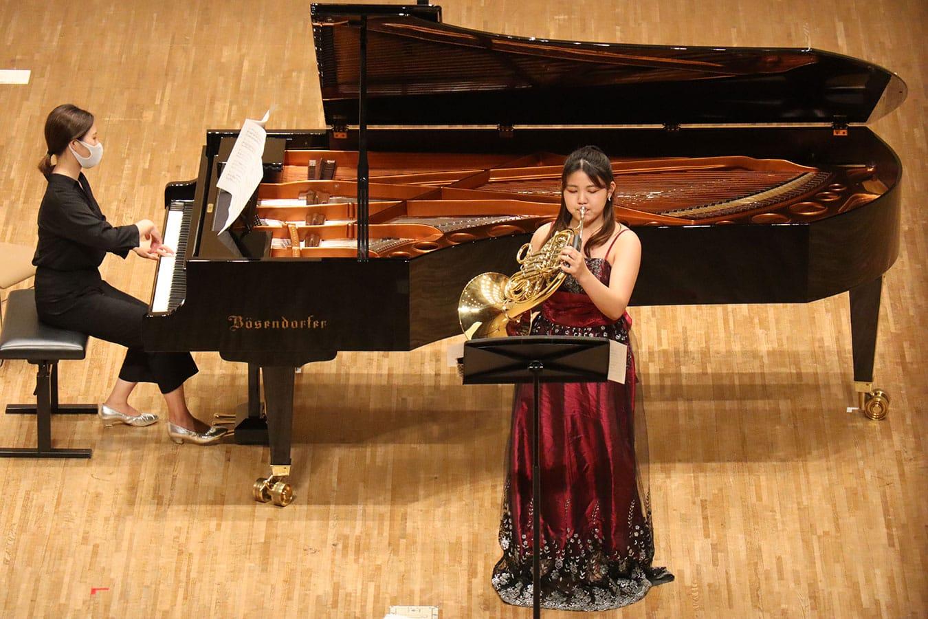 第2回学内演奏会 ―管打楽コース―演奏風景7