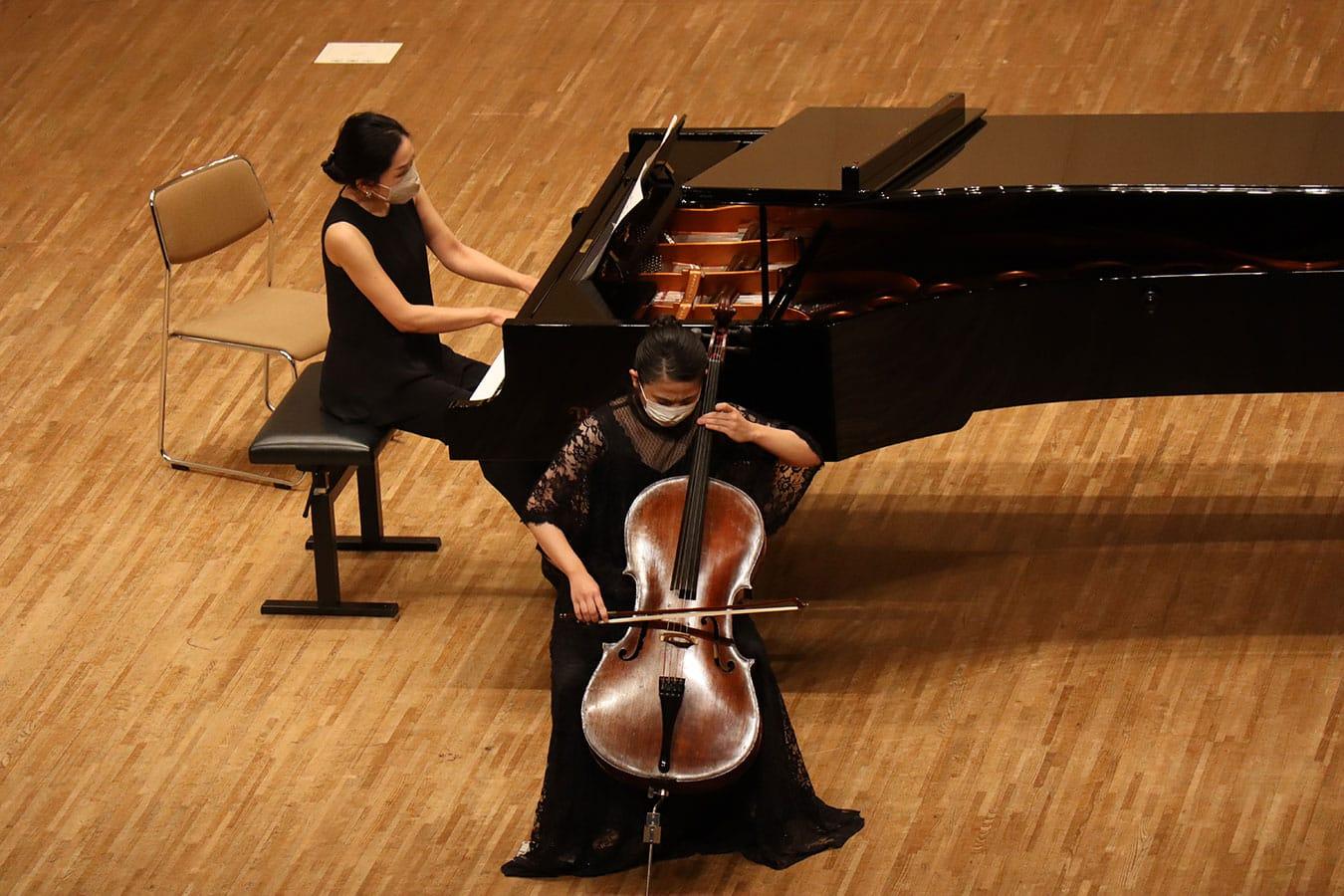 第4回学内演奏会 ―管打楽コース―演奏風景1