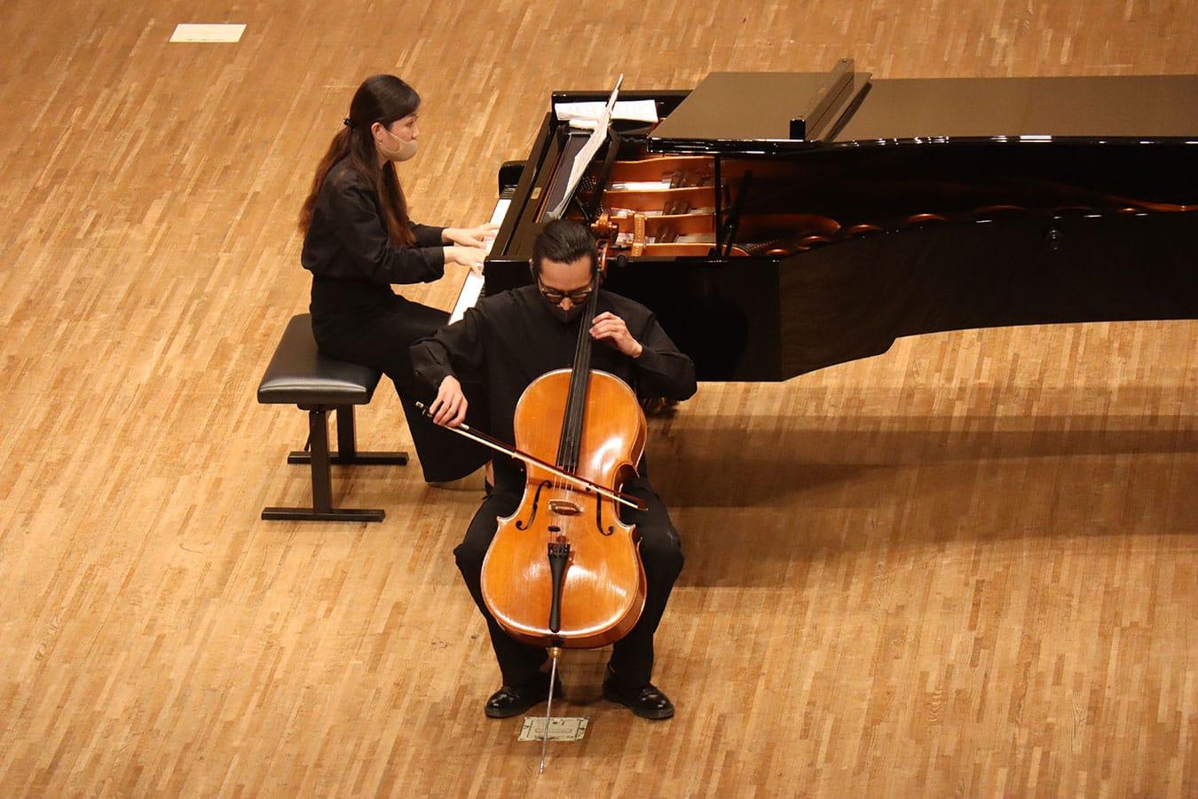 第4回学内演奏会 ―管打楽コース―演奏風景2