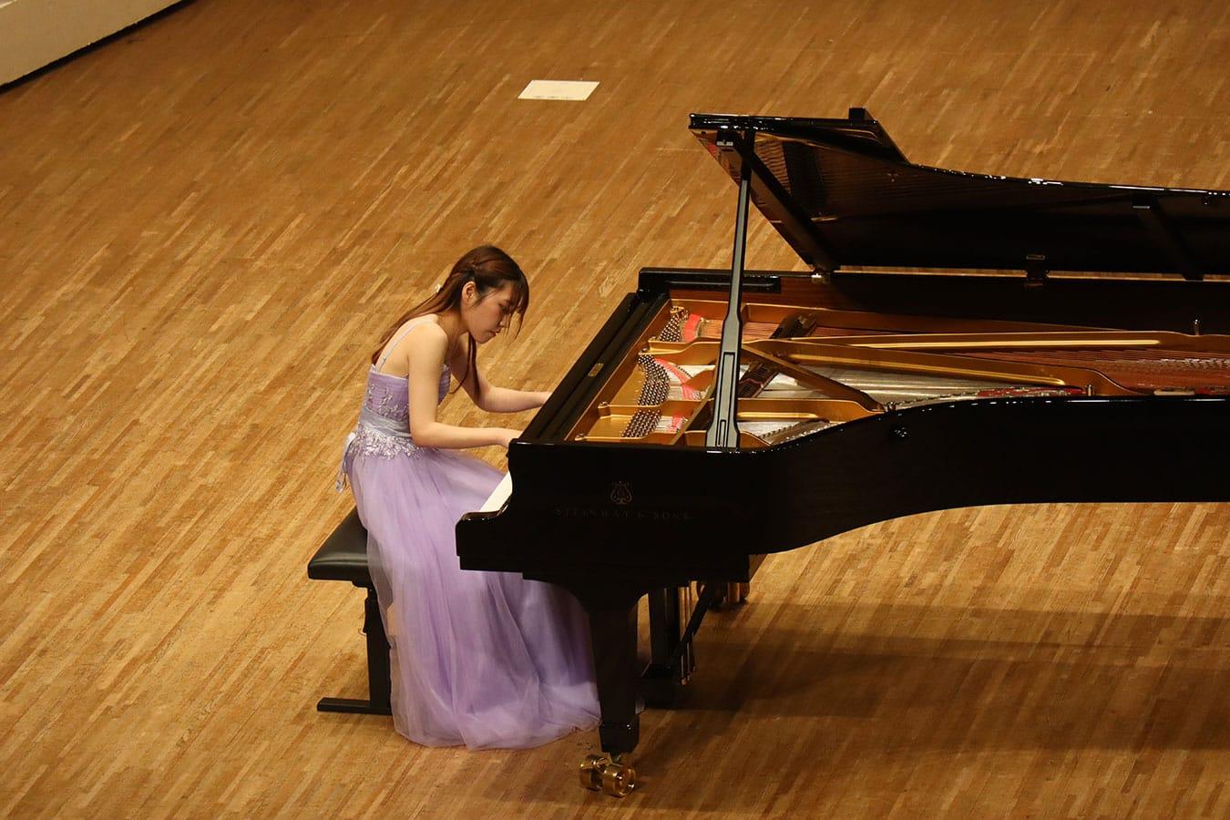第5回学内演奏会 ―ピアノコース―演奏風景2