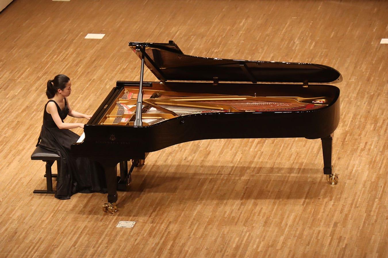 第5回学内演奏会 ―ピアノコース―演奏風景4