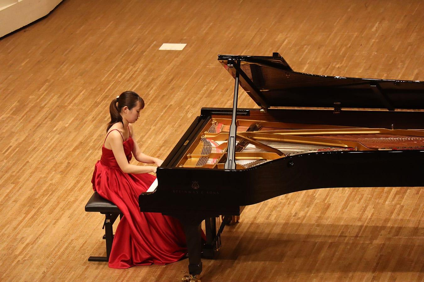 第5回学内演奏会 ―ピアノコース―演奏風景5